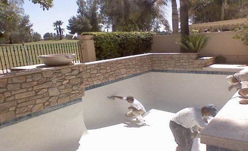 Plaster Remodel - Splash Effects Arizona Pool CompanyPool Fence - Splash Effects Arizona Pool Company
