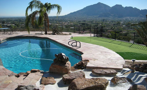 Custom Pool With Views - Splash Effects Arizona Pool Company